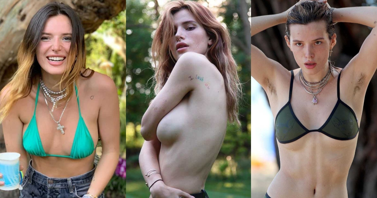 61 Sexy Bella Thorne Boobs Pictures Are Slices Of Heaven