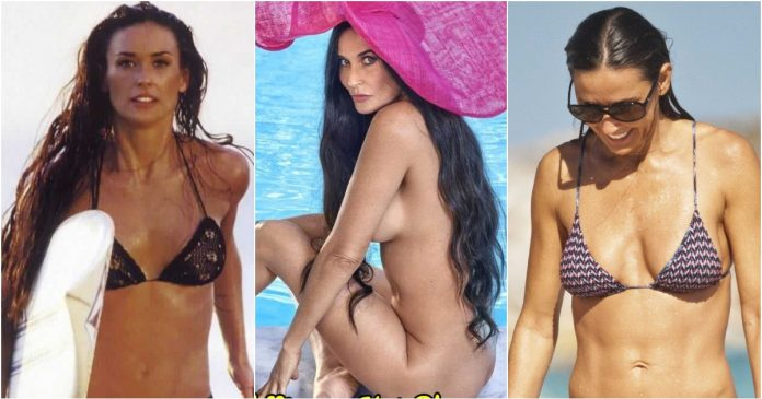 61 Sexy Demi Moore Pictures Captured Over The Years