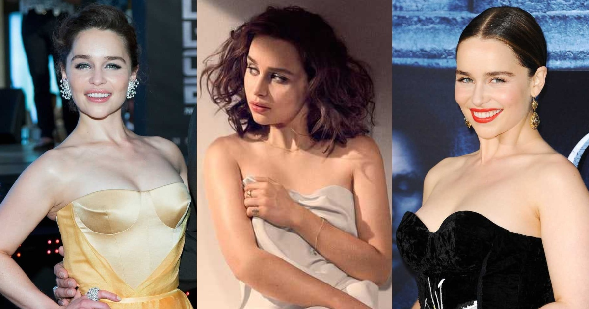 61 Sexy Emilia Clarke Boobs Pictures Are Provocative As Hell