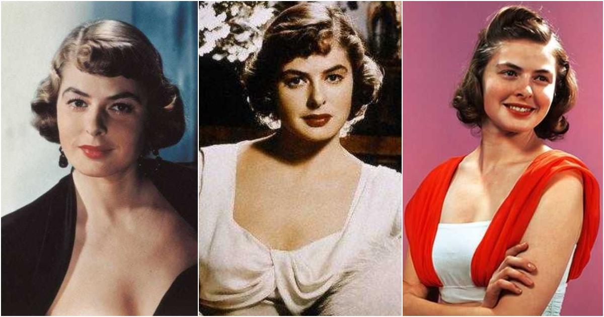 Ingrid Bergman  nackt