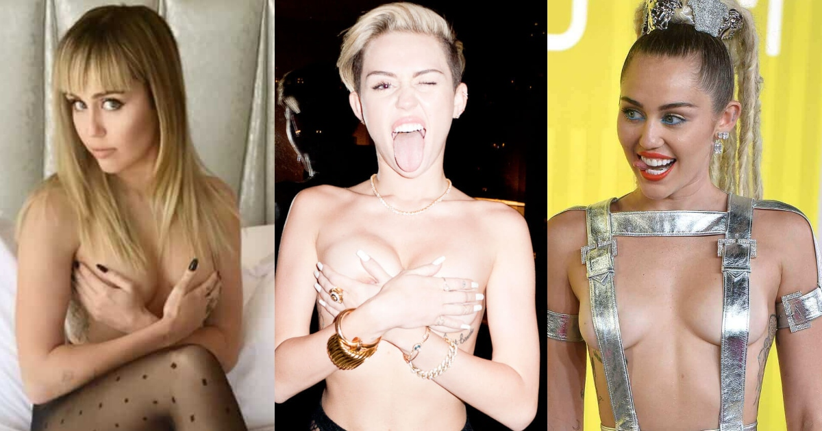 61 Sexy Miley Cyrus Boobs Pictures Which Make Certain To Prevail Upon Your Heart