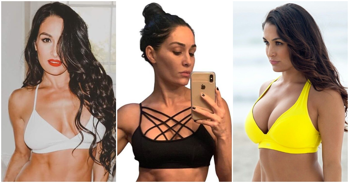 61 Sexy Nikki Bella Pictures Demonstrate That She Has Most Sweltering Legs