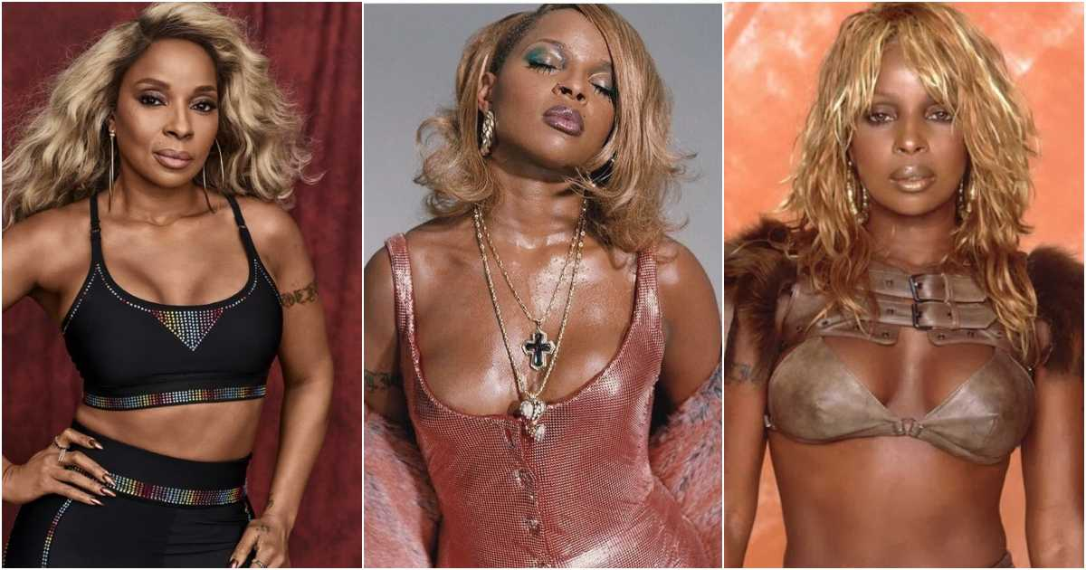 61 Sexy Pictures Of Mary J. Blige That Make Certain To Make You Her Greatest Admirer