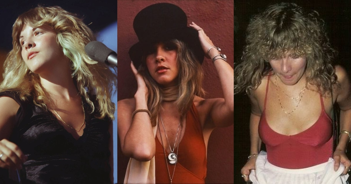 61 Stevie Nicks Sexy Pictures Will Drive You Frantically Enamored For This Sexy Vixen