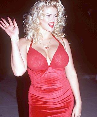 Anna Nicole Smith sexy biknii pic
