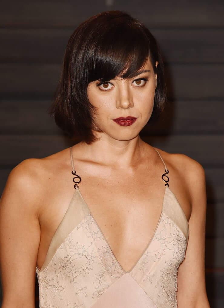 Aubrey Plaza sexy busty picture