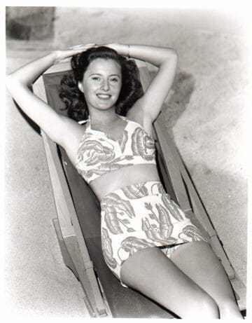 Barbara Stanwyck bikini pics