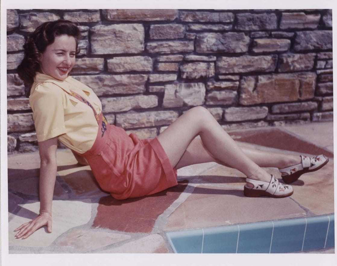 Barbara Stanwyck hot thigh