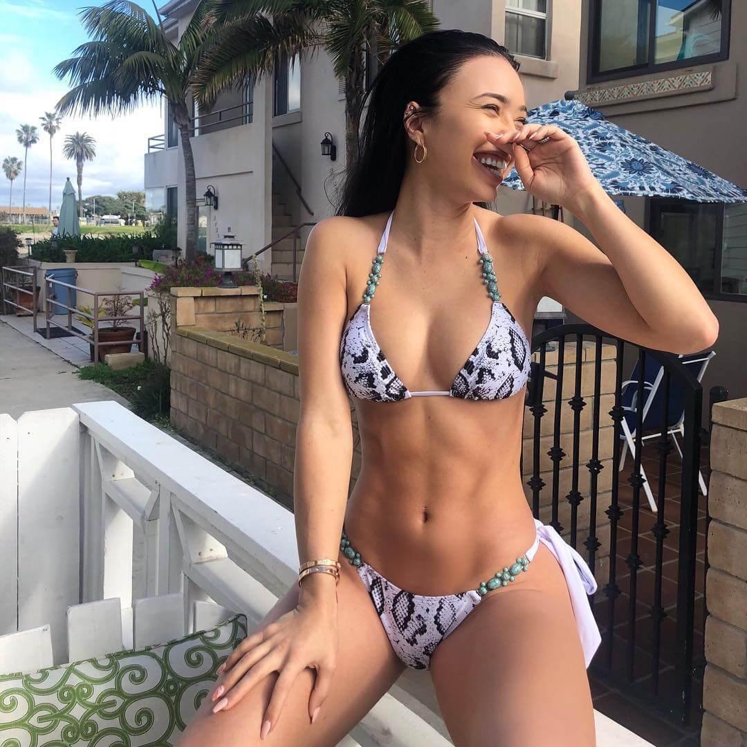 Breana Tiesi sexy bikini pictures