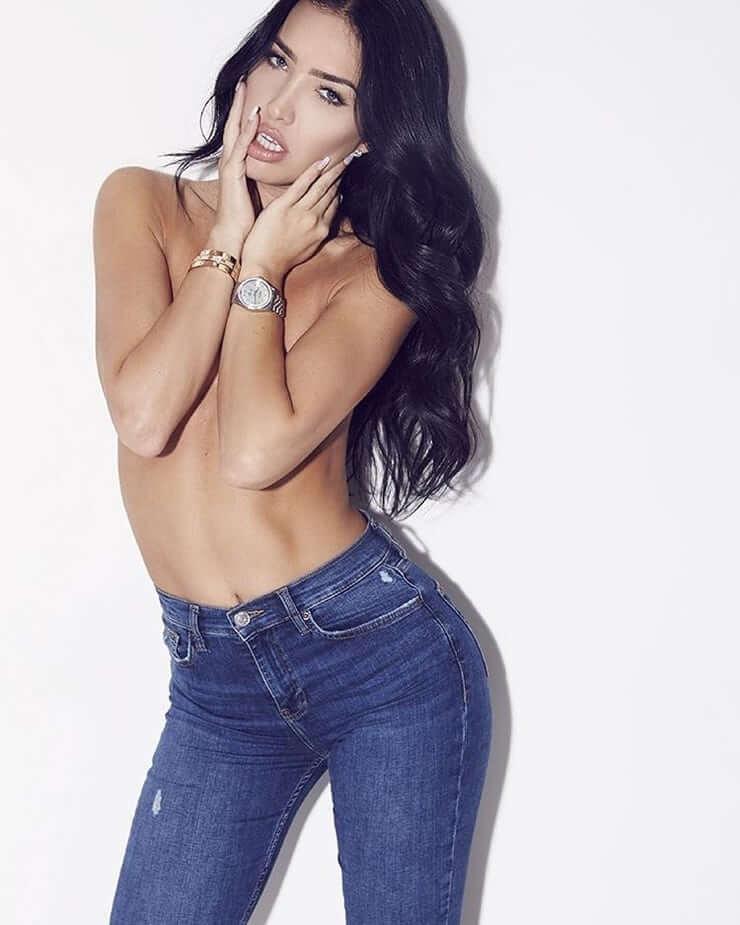 Breana Tiesi sexy nude pic