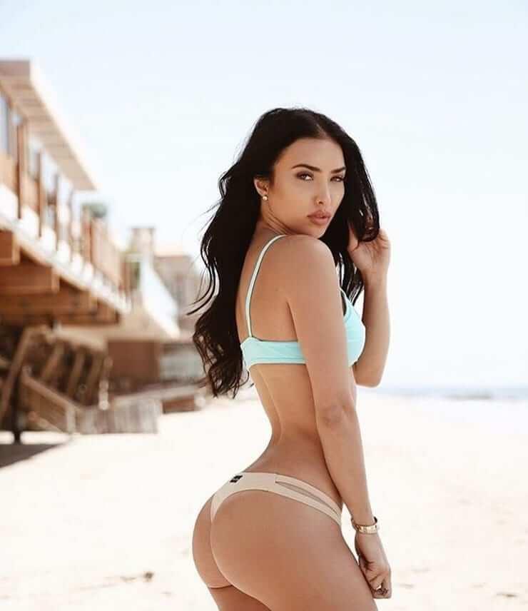 Breana Tiesi sexy side pics