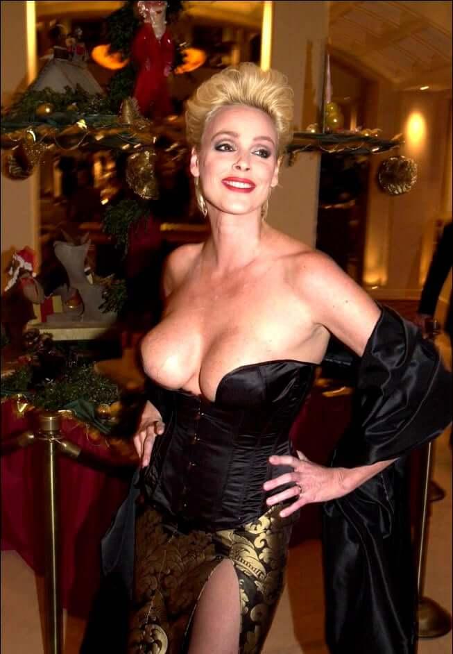 Brigitte Nielsen sexy boobs pictures