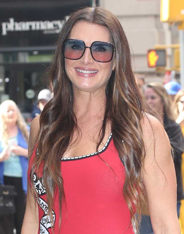 Brooke Shields sexy picture