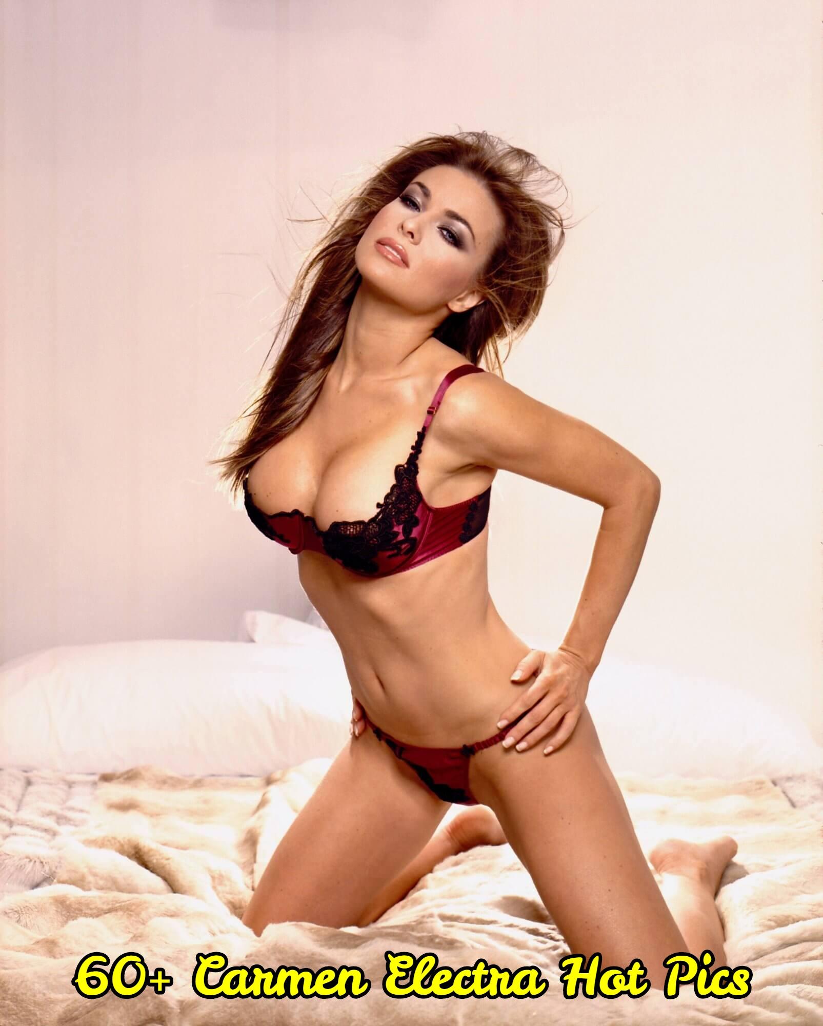 Carmen Electra big boobs