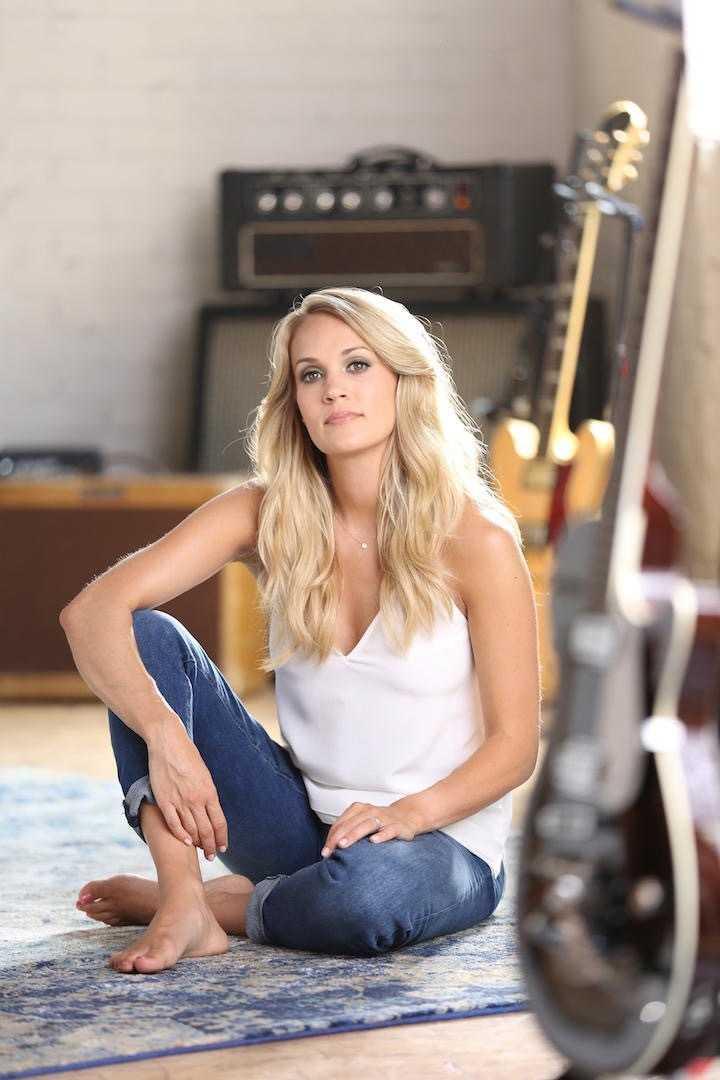 Carrie Underwood adorable