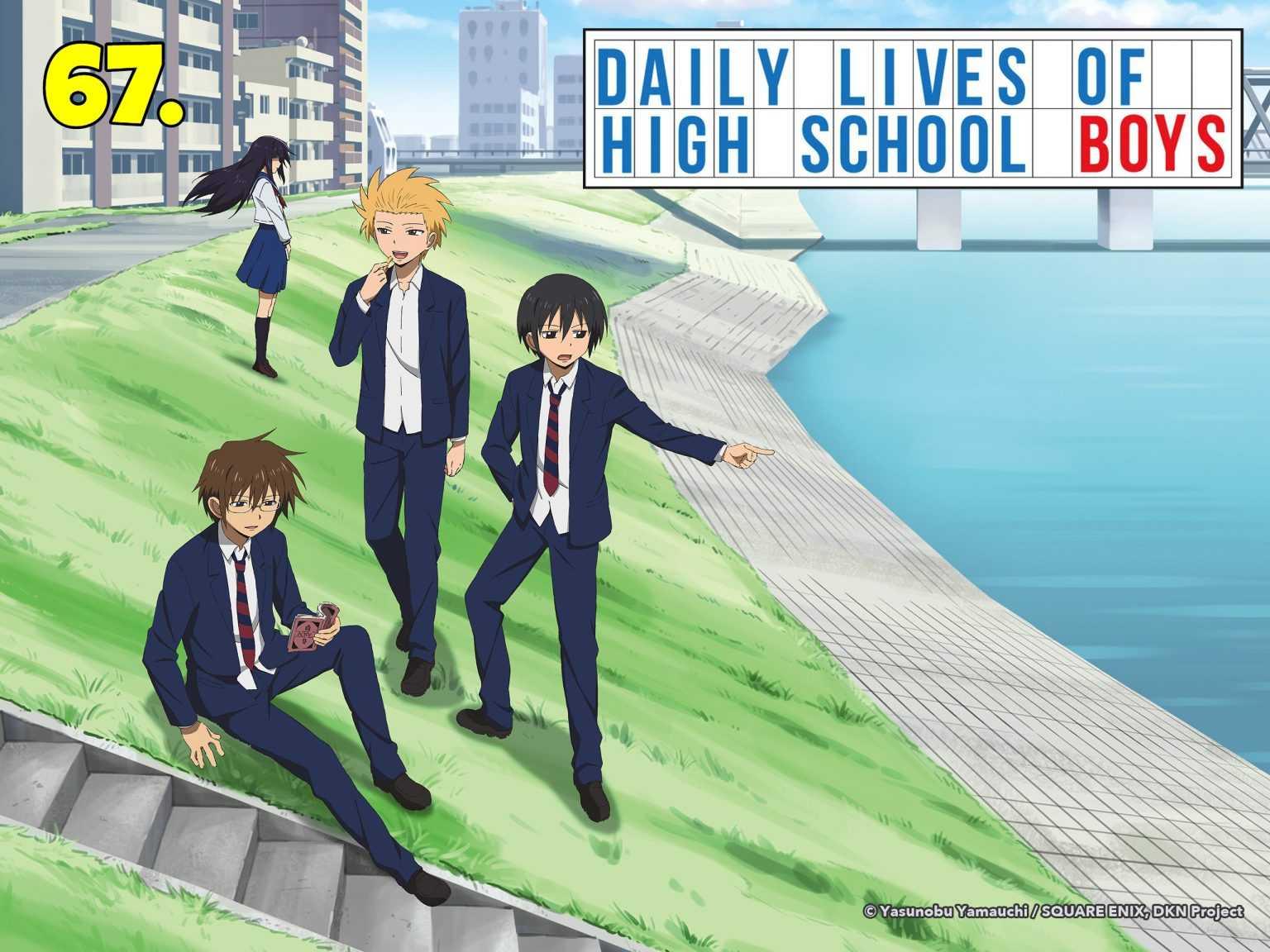 Daily Lives Of Highschool Boys