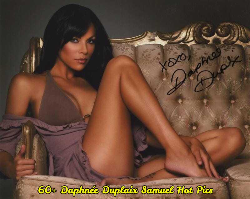 Daphnée Duplaix Samuel hot thigh