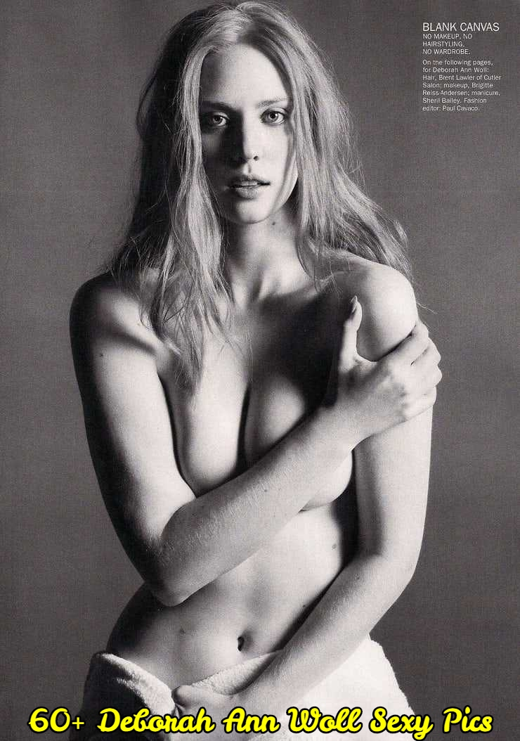 Deborah Ann Woll topless