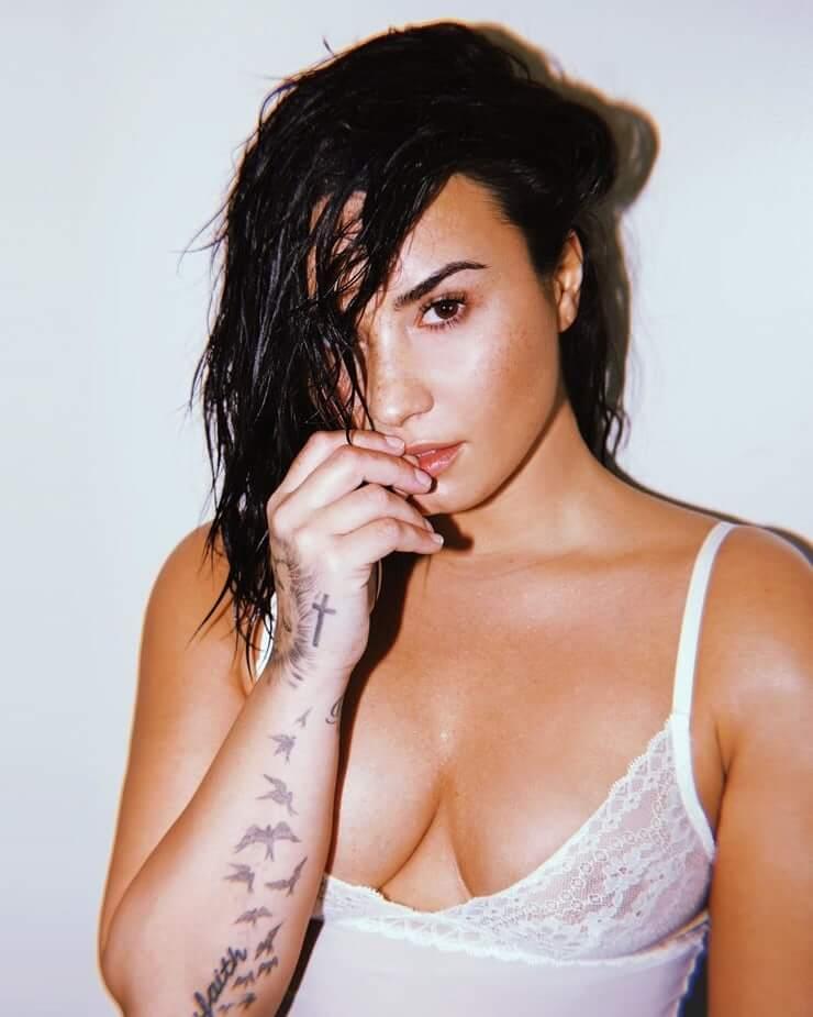Demi Lovato sexy boobs pics