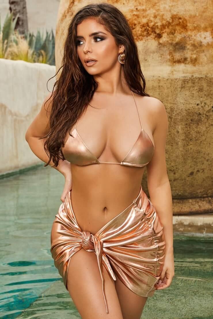 Demi Rose sexy bikini pics