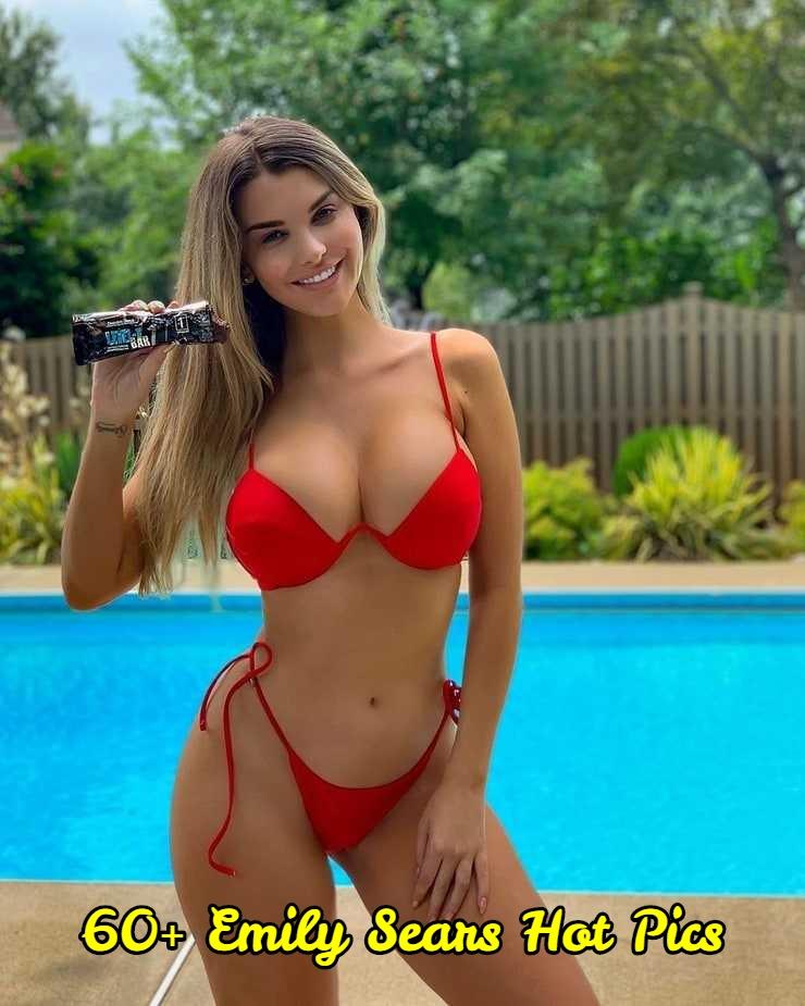Emily Sears big boobs cleavage