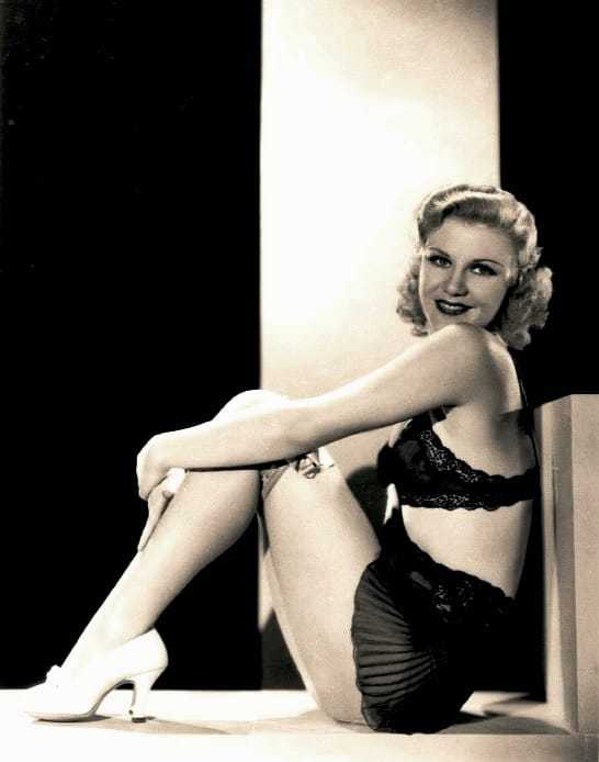 Ginger Rogers sexy thigh pics