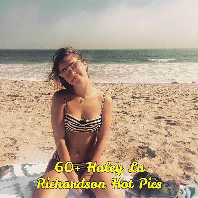 Haley Lu Richardson big boobs