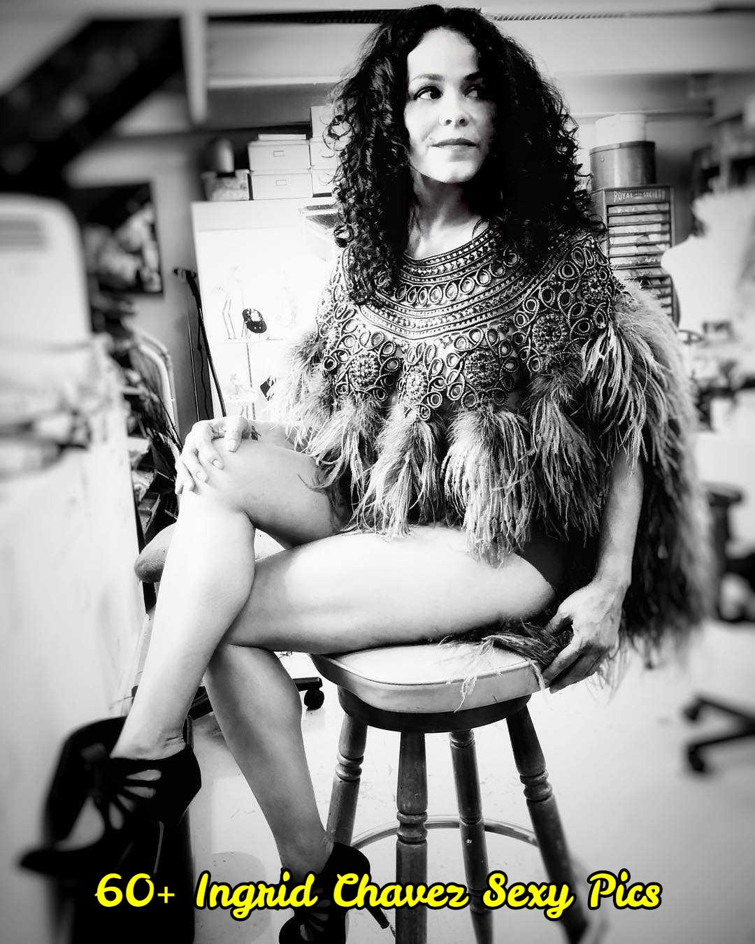 Ingrid Chavez hot thigh