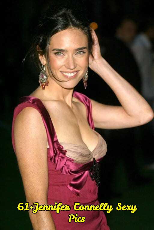 Jennifer Connelly side boobs