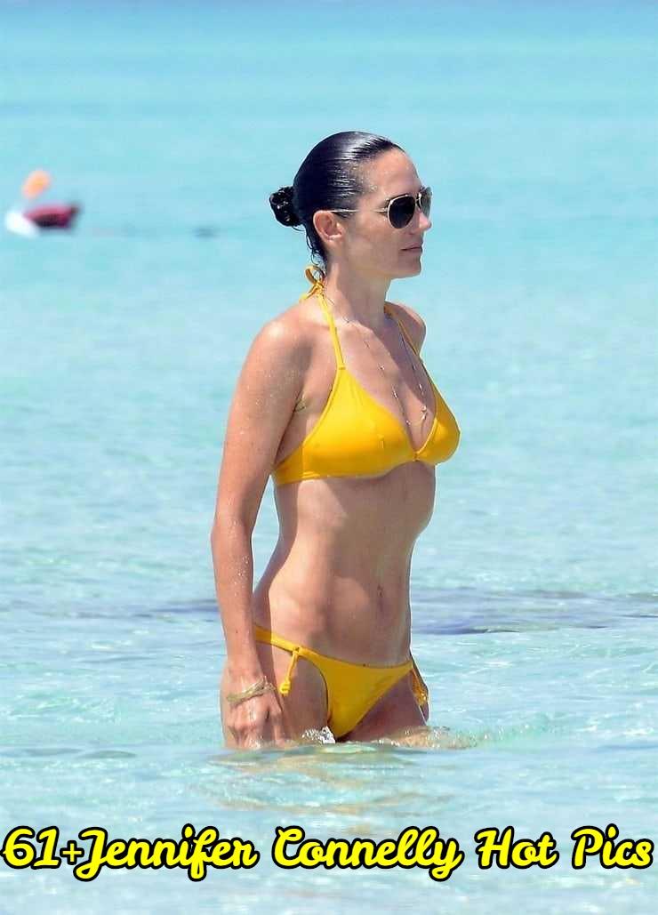 Jennifer Connelly yellow bikini