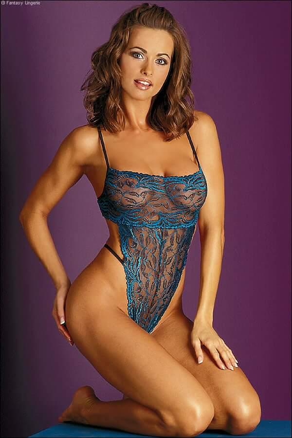 Karen McDouga cleavage