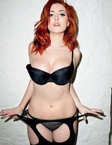 Lucy Collett lingerie pics