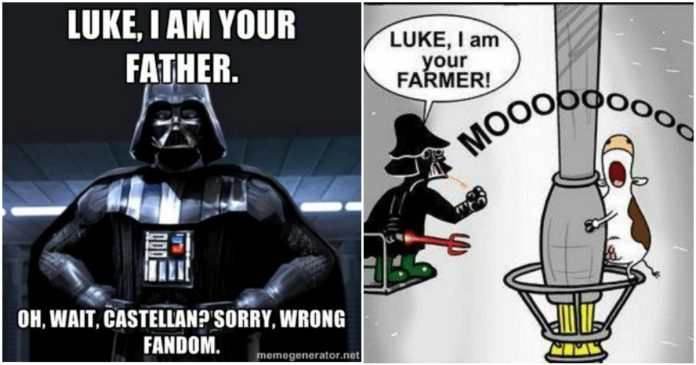100 Luke I Am Your Father Memes That Will Make You Laugh Geeks