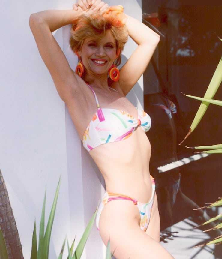 Markie Post sexy lingerie pics