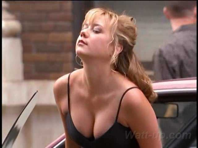 Megyn Price cleavage