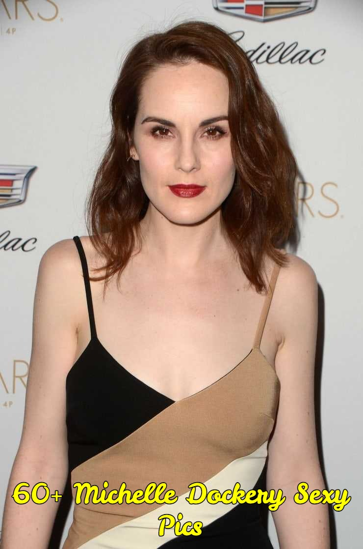 Michelle Dockery sexy cleavage