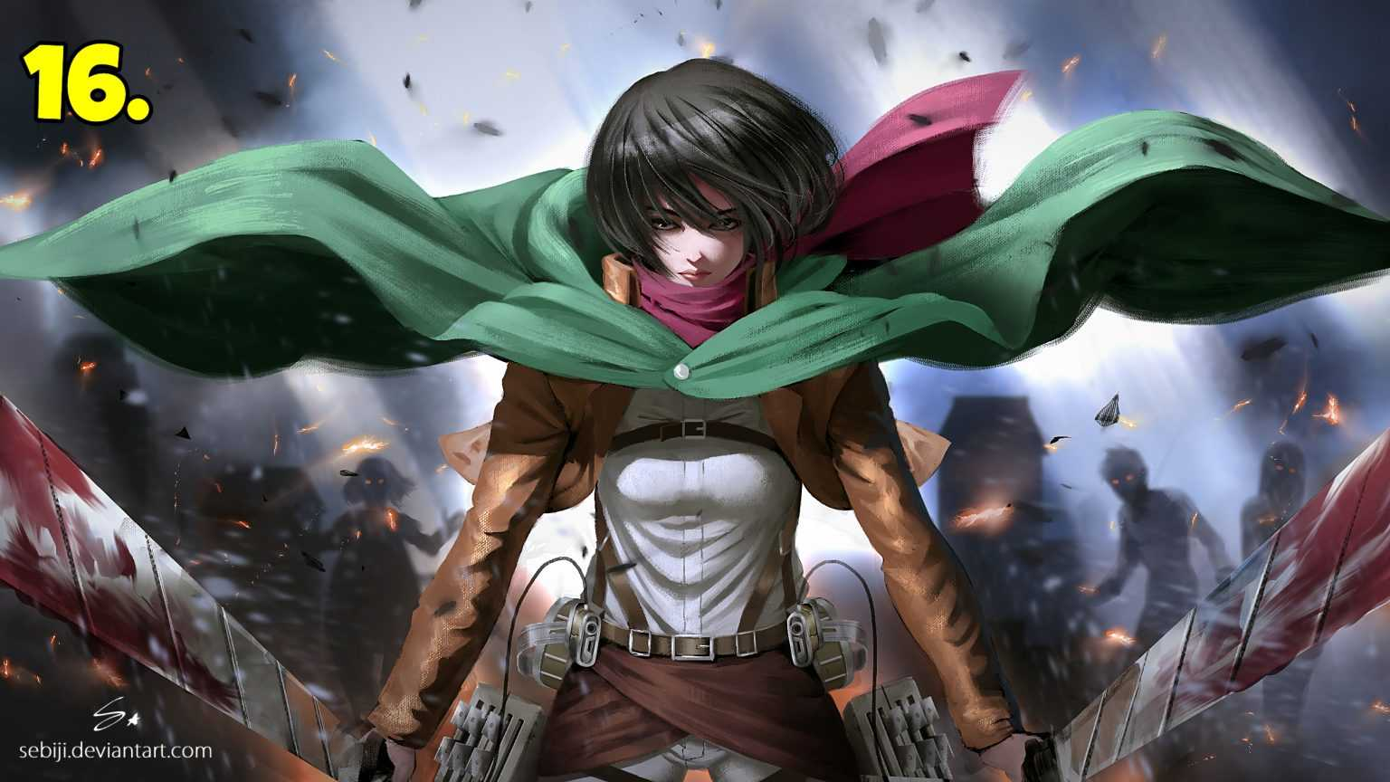 Mikasa-Ackermann-Attack-On-Titan