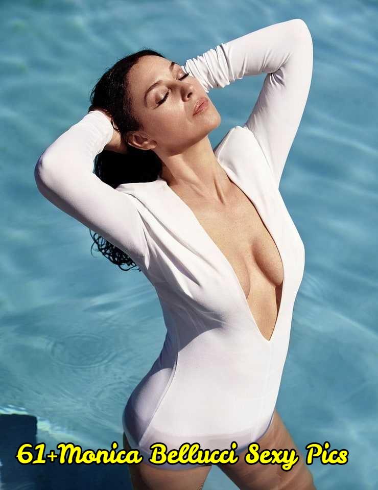 Monica Bellucci side boobs pic'