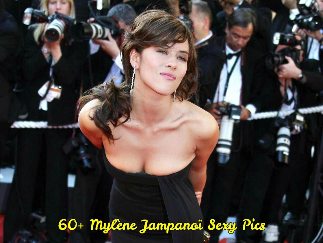 Mylène Jampanoï hot and sexy