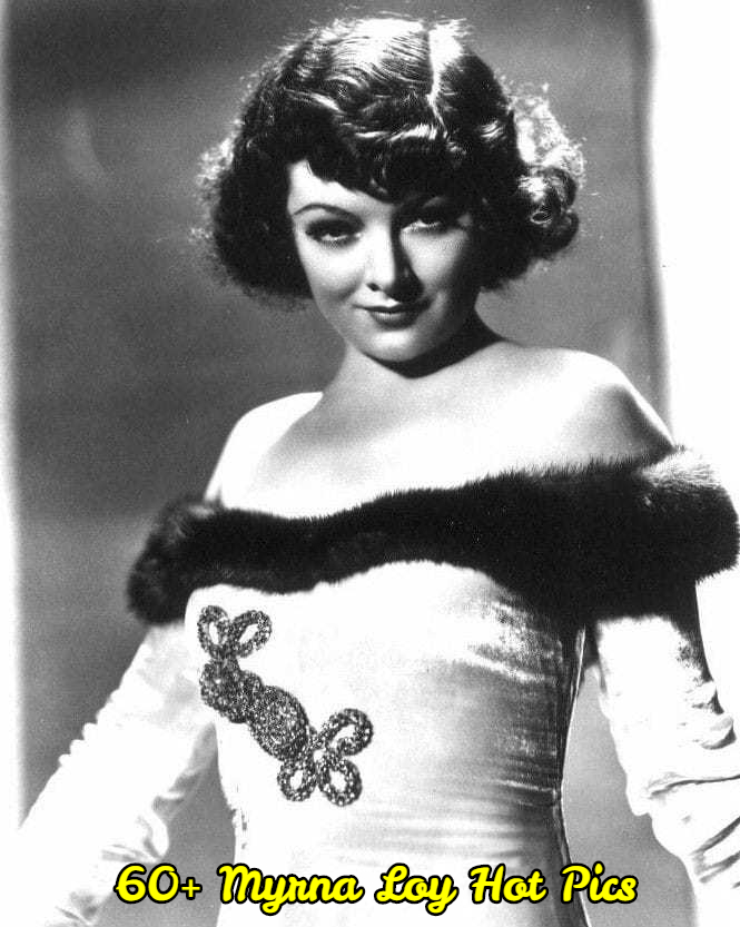 Myrna Loy hot and sexy