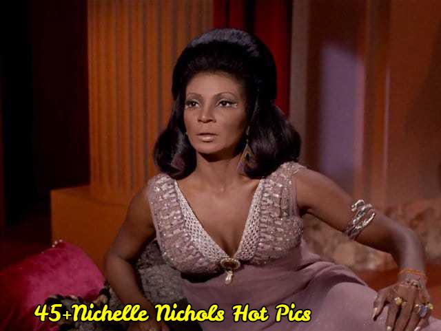 Nichelle Nichols hot cleavage pics