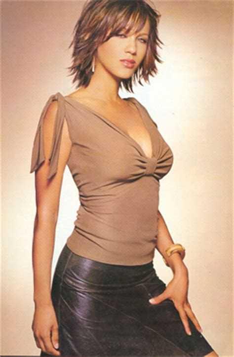 Nicole Ari Parker side boobs
