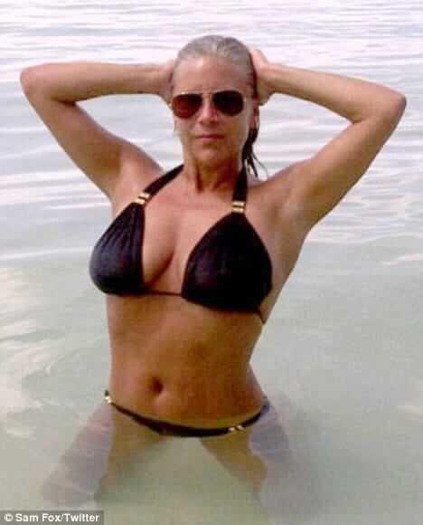 Samantha Fox hot lingerie pics