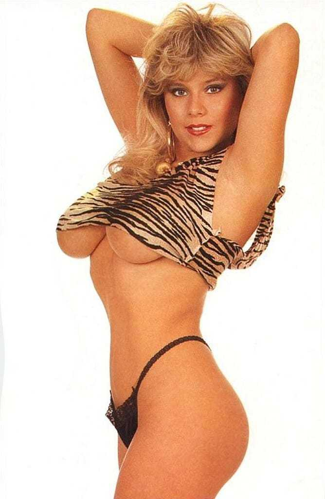 Samantha Fox sexy lingerie pic