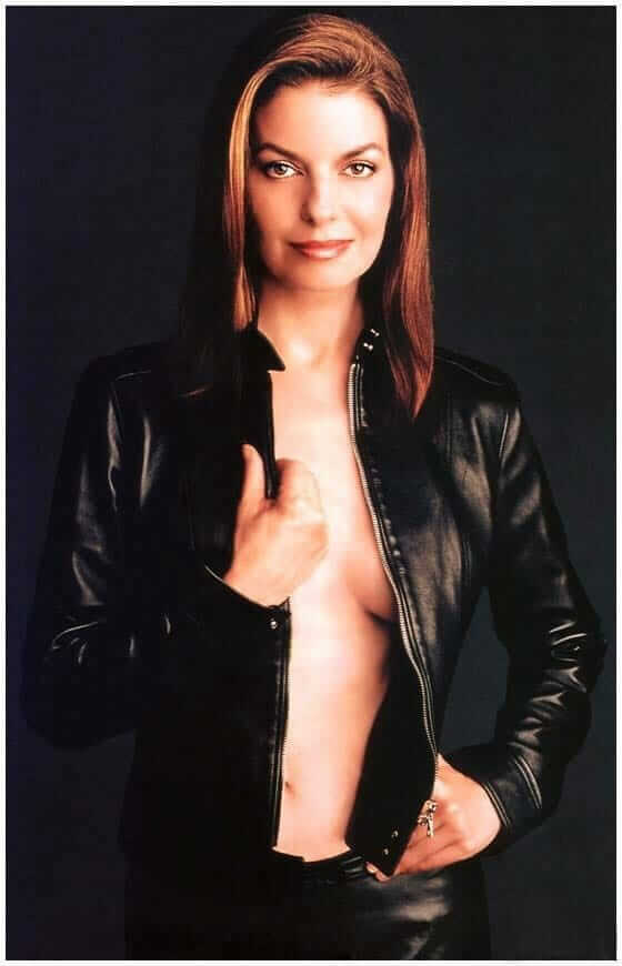Sela Ward sexy cleavage pictures