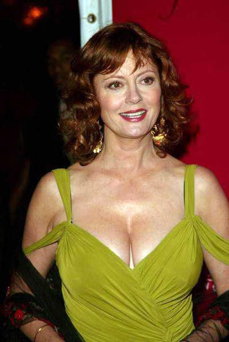 Susan Sarandon sexy boobs pic