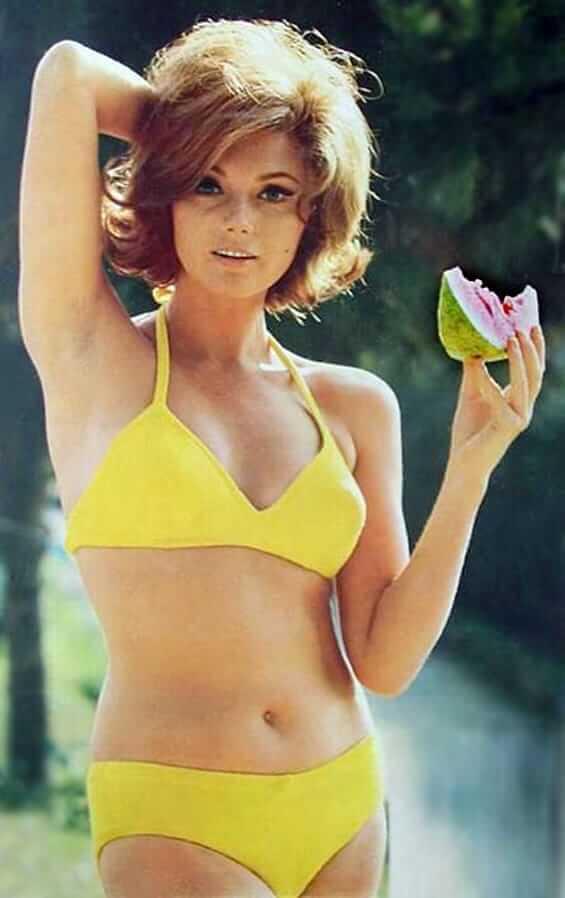 Sylva Koscina lingerie