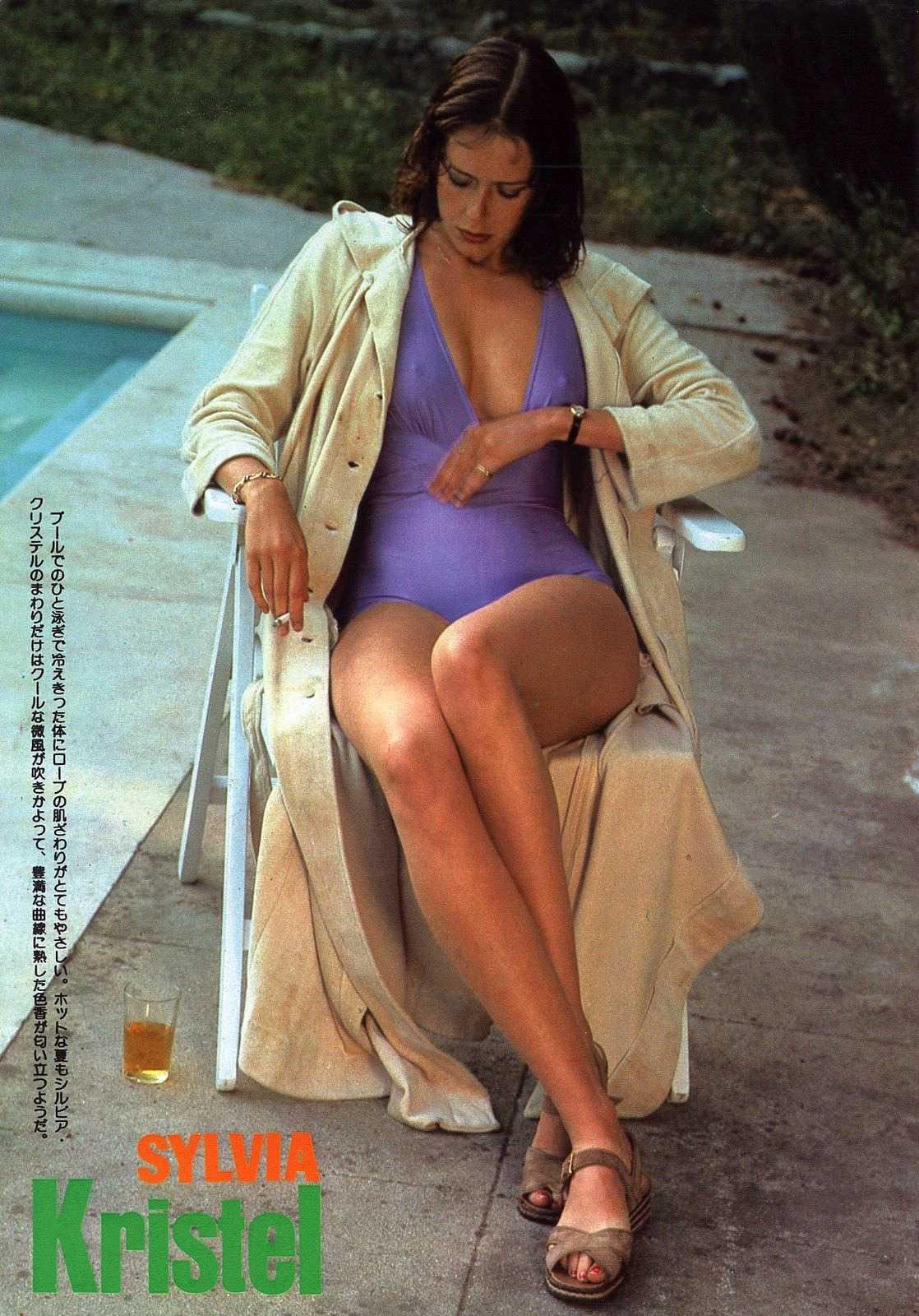 Sylvia Kristel bare feet
