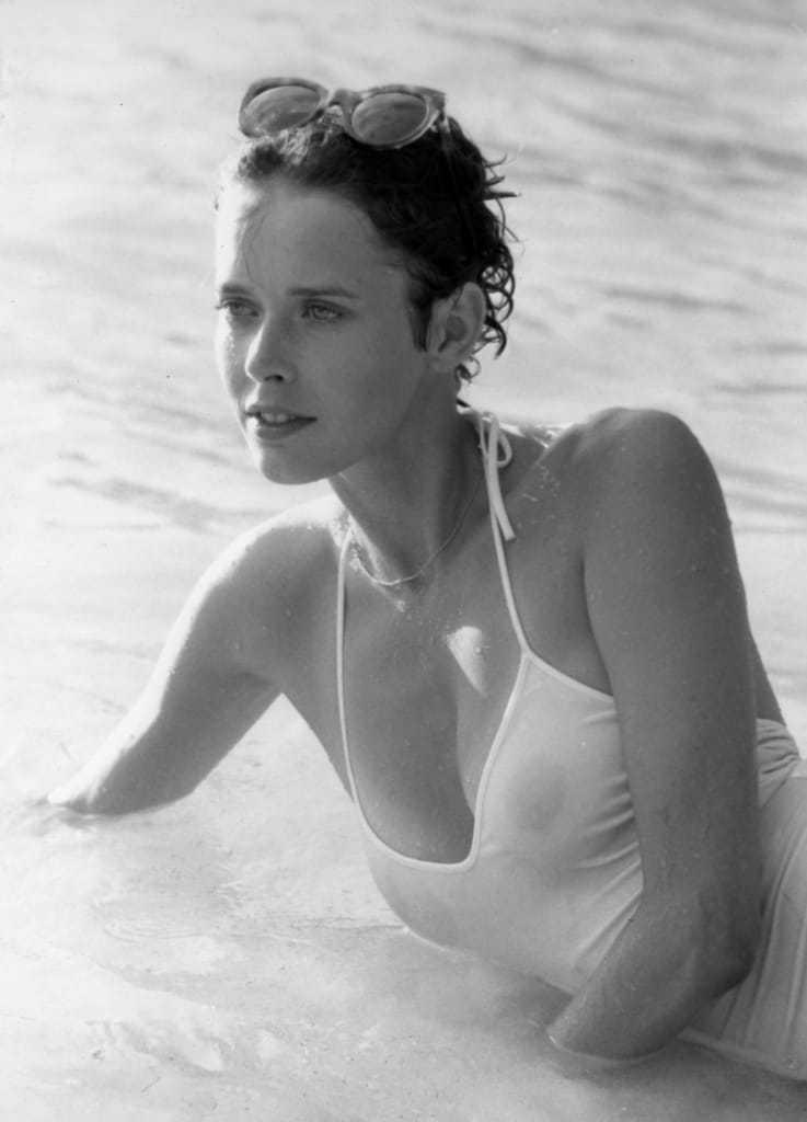 Sylvia Kristel side boobs
