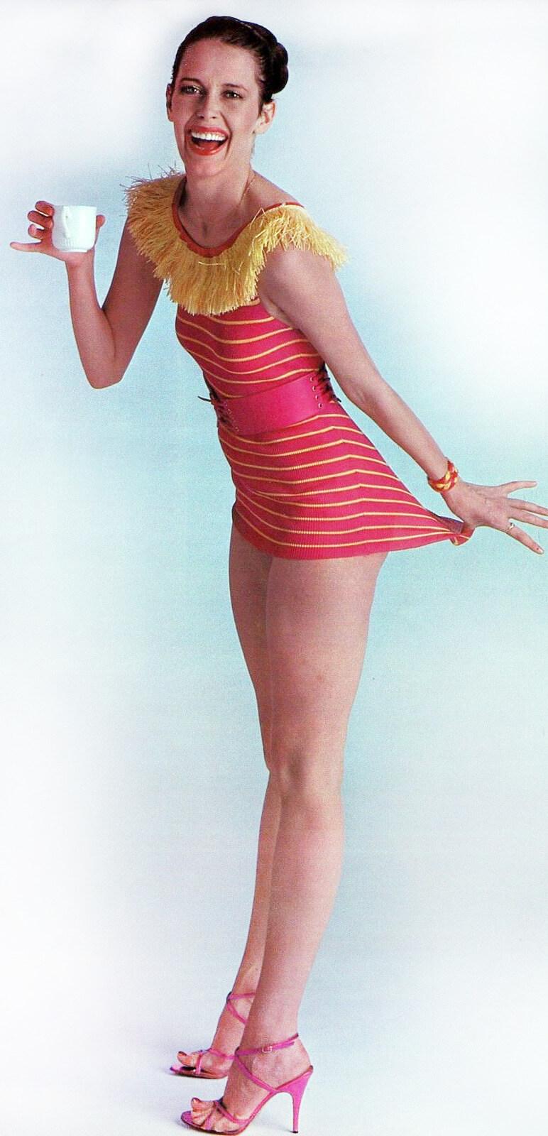 Sylvia Kristel side pose